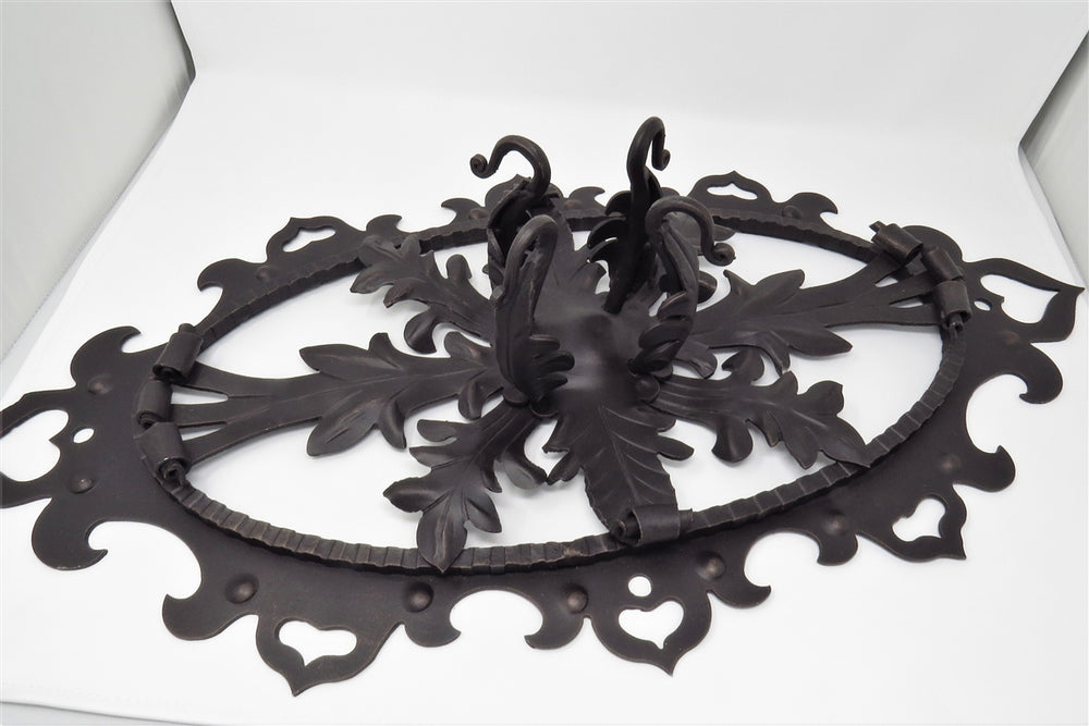 HHCM-339 German Castle Iron Chandelier Mount