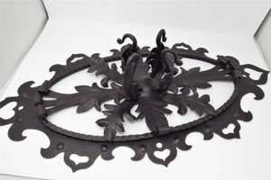 Load image into Gallery viewer, HHCM-339 German Castle Iron Chandelier Mount