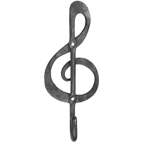 Music Note Iron Hook