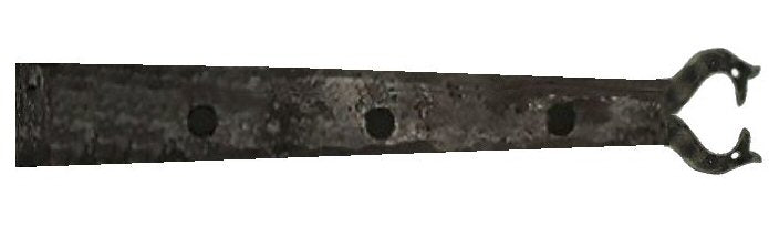 XL Viking Folk Wrought Iron Faux Hinge Strap