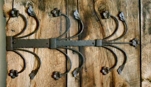 14th Century Wrought Iron Hinge Strap HHS-357