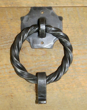 HRP-305 Transitional Iron Door Knocker/ Ring Pull