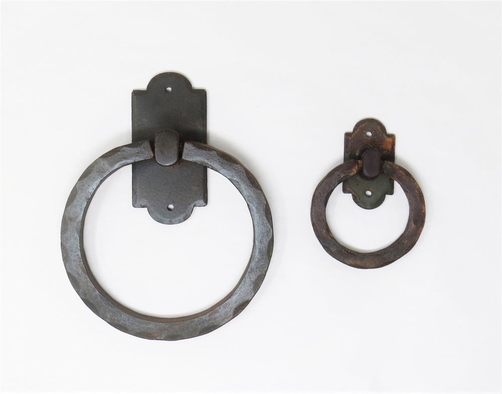HRP-306 Colonial Iron Door Knocker / Ring Pull