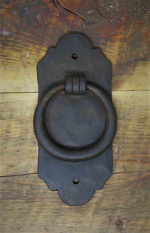 HRP-307 Classic Iron Door Knocker / Ring Pull