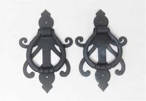 HRP-322 Celtic Iron Door Knocker / Ring Pull