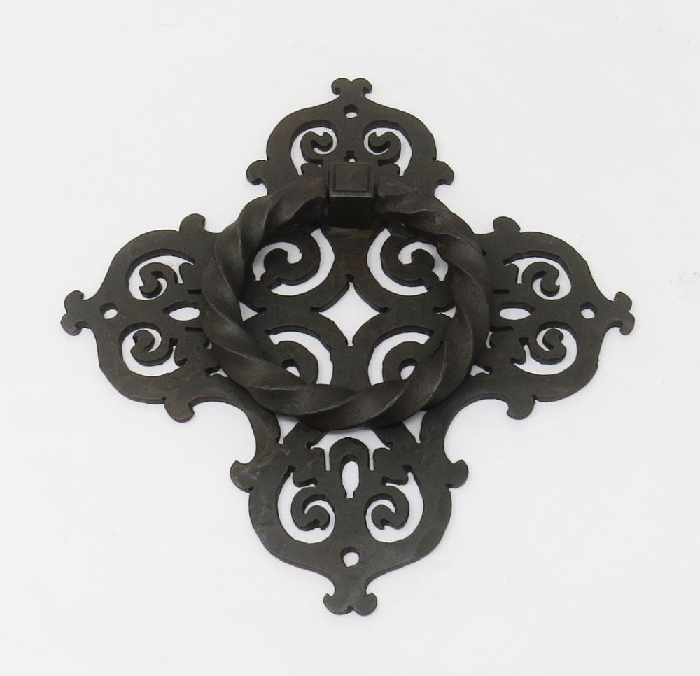 HRP-338 Gothic Cathedral Iron Door Knocker / Ring Pull