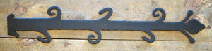 Old English Castle Wrought Iron Faux Hinge Strap