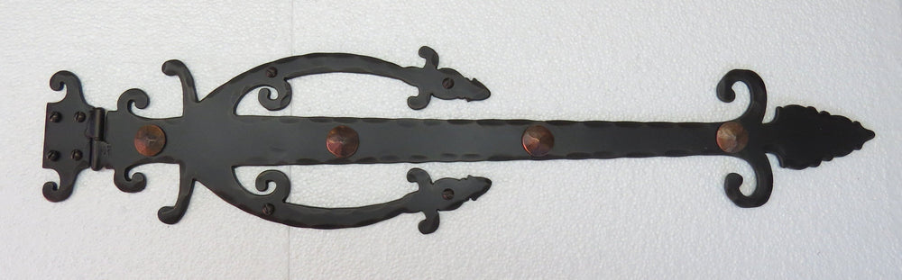 Medieval Wrought Iron XL Functioning Hinge Strap