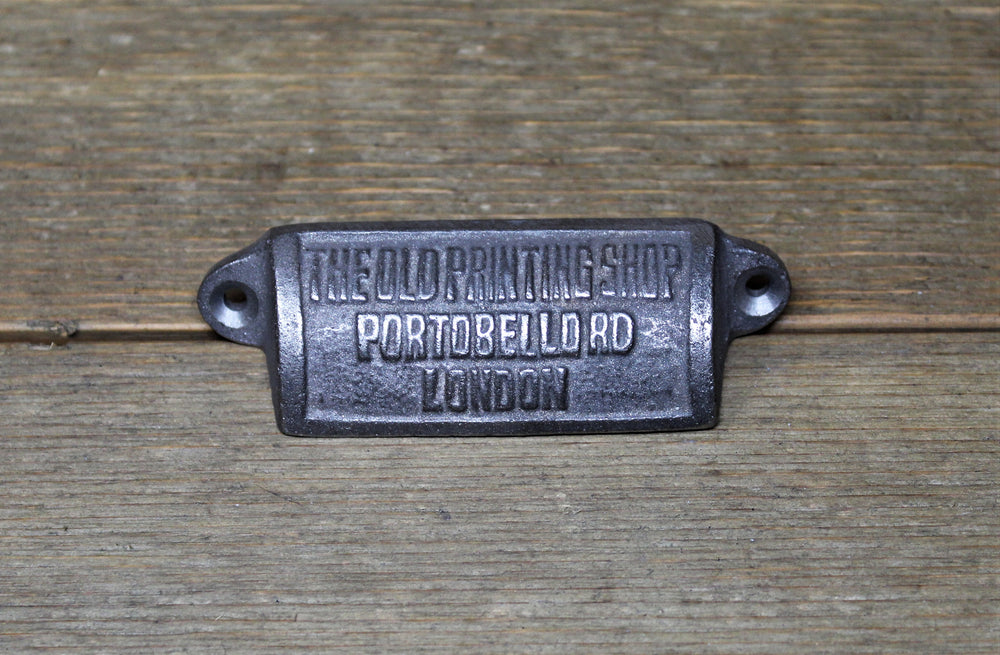 London Iron Drawer Pull