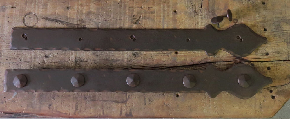 Cottage Iron Faux Hinge Strap