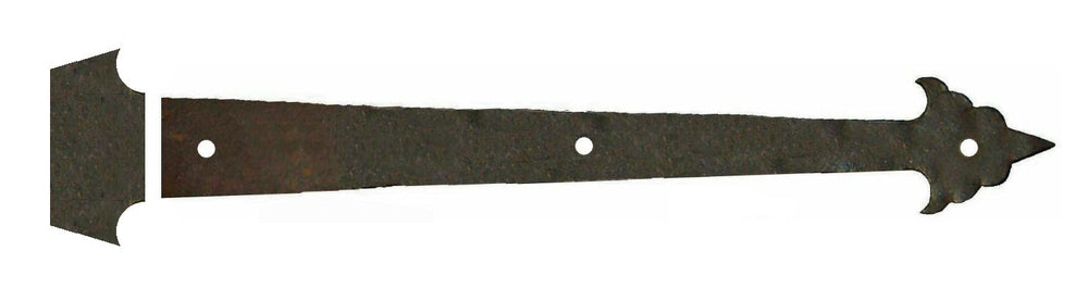 Early American Iron Functioning Hinge Strap