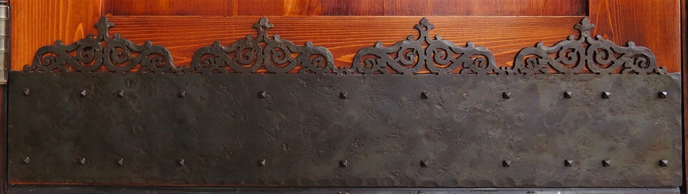KP-338 Gothic Cathedral Iron Kick Plate