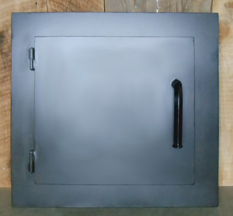 Custom Scandinavian Rectangle Hinged Pizza Oven Door