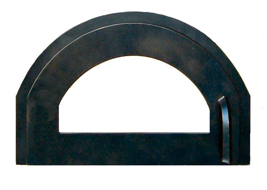 Modern Arched Hinged Pizza Oven Door