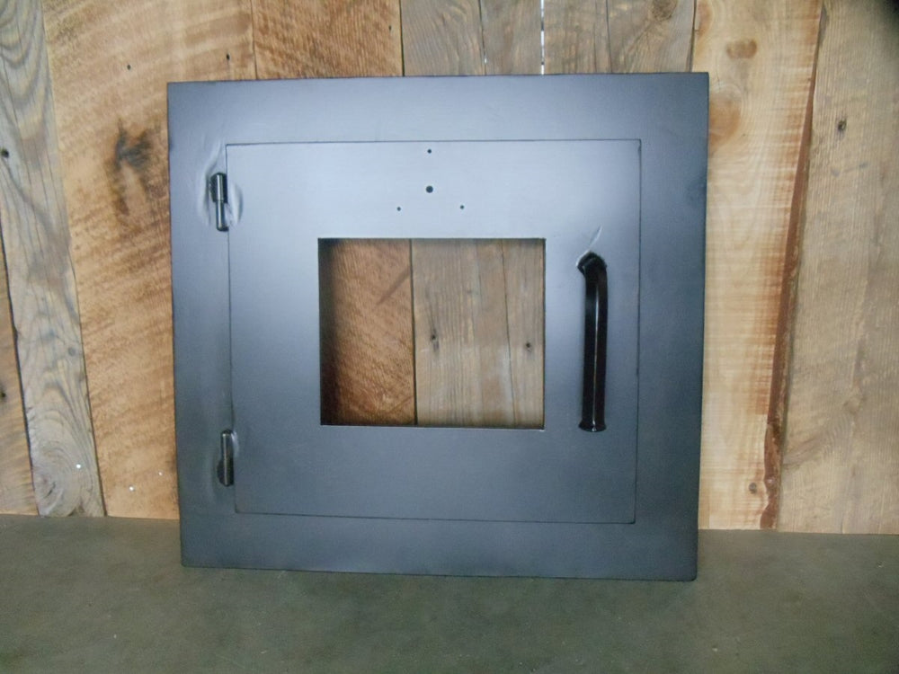 MD-201-SH Simple Rectangle Hinged Pizza Oven Door