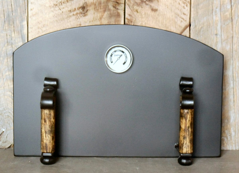Spanish Colonial Arched Freestanding Pizza Oven Door