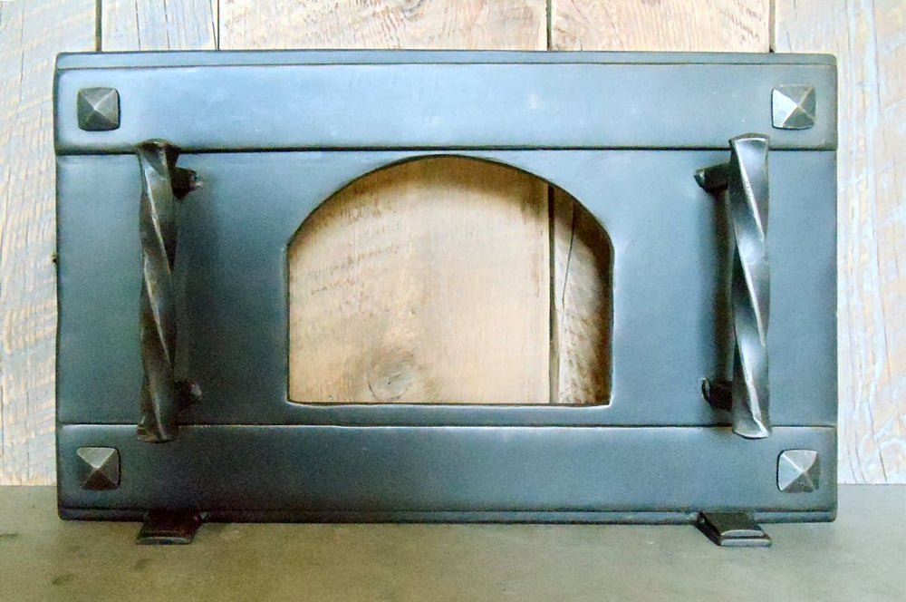 Craftsman Square Freestanding Pizza Oven Door