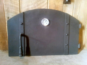 MD-204-AH Simple Arched Hinged Pizza Oven Door
