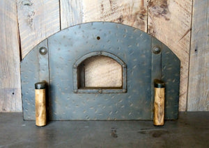 MD-205-A Standard Arched Freestanding Pizza Oven Door