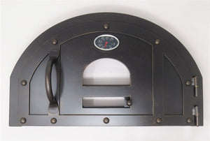 MD-207-AH Traditional Arched Hinged Pizza Oven Door