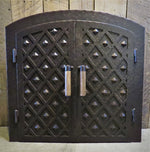 French Country Arched Hinged Pizza Oven Door