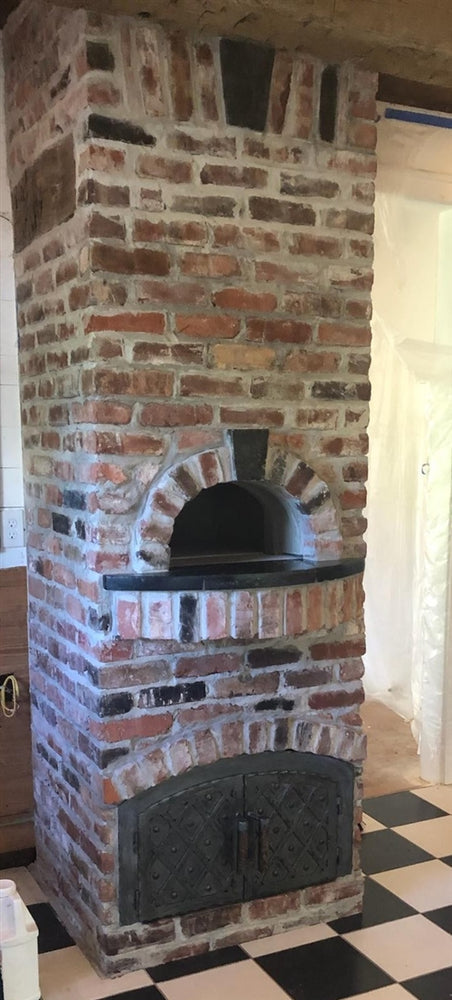 MD-209-AD Romanesque Arched Hinged Pizza Oven Door