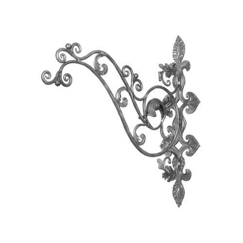 Ornate Scrolled Sign Bracket