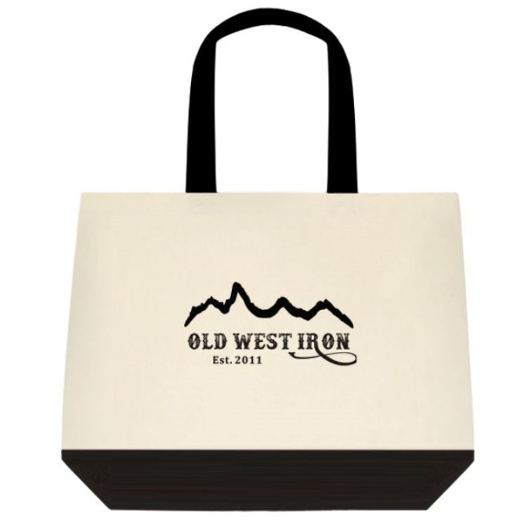 Old West Iron Canvas Tote Bag