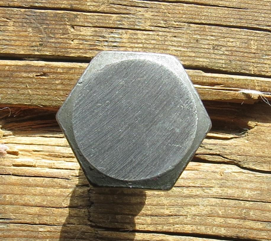 "1/4"" Dia. Smooth Hex Head Bolt"