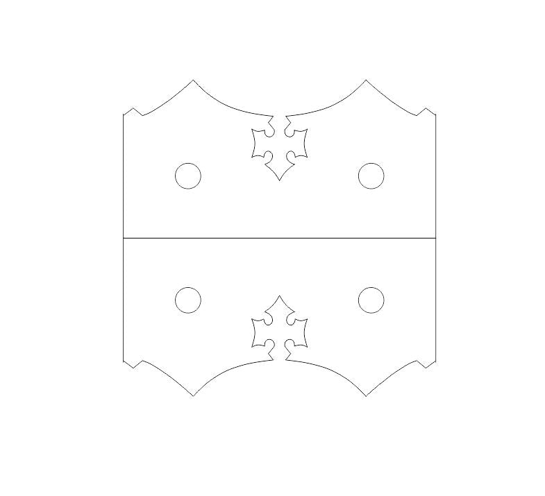 Medieval Reconquista Iron Angle Brace