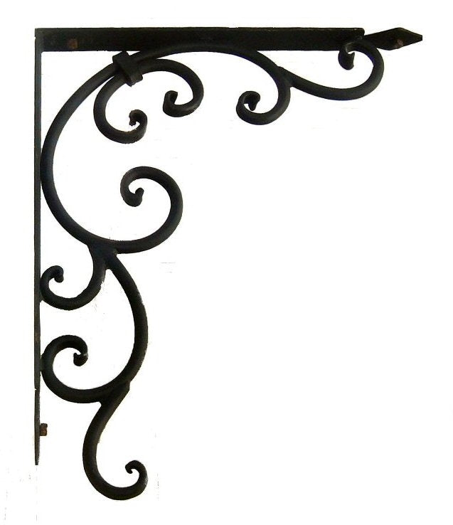 Old California Hacienda Iron Corbel