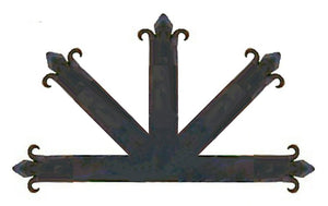 Authentic 15th Century Iron Center Plate