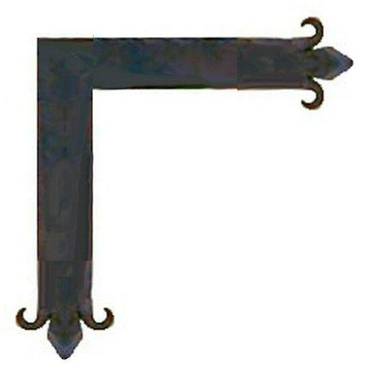 "Authentic 15th Century Iron ""L"" Plate"