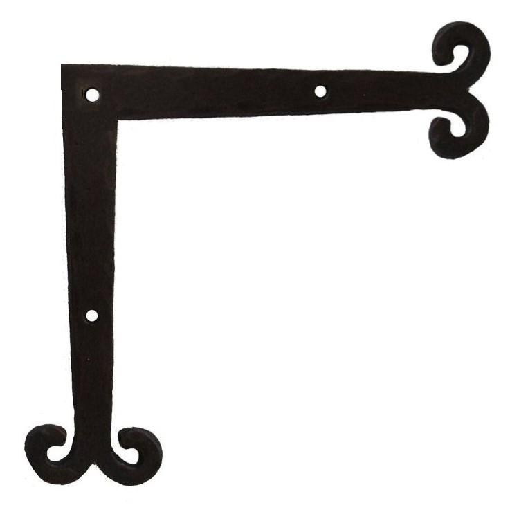 "Middle Age Europe Iron ""L"" Plate"