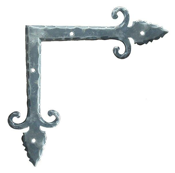 "Load image into Gallery viewer, Medieval Iron ""L"" Plate"