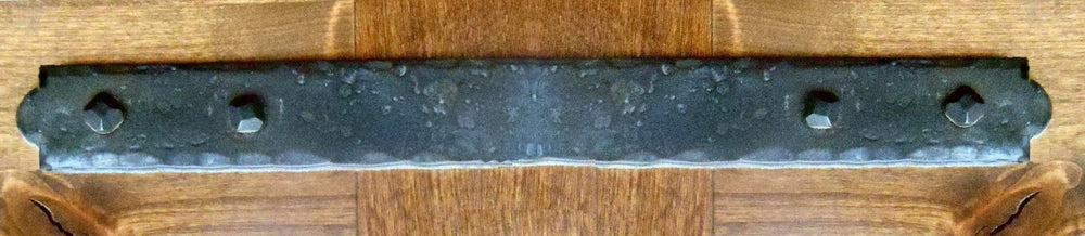 Colonial Iron Straight Plate