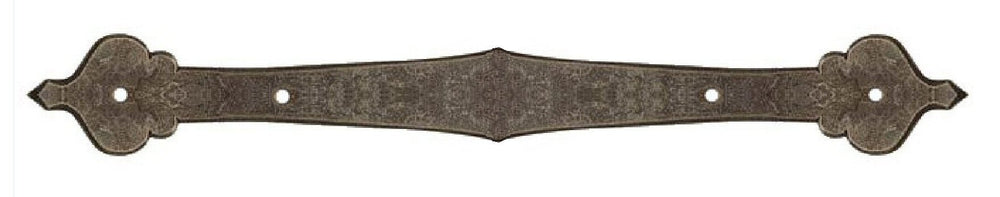 French Country Revival Iron Straight Plate