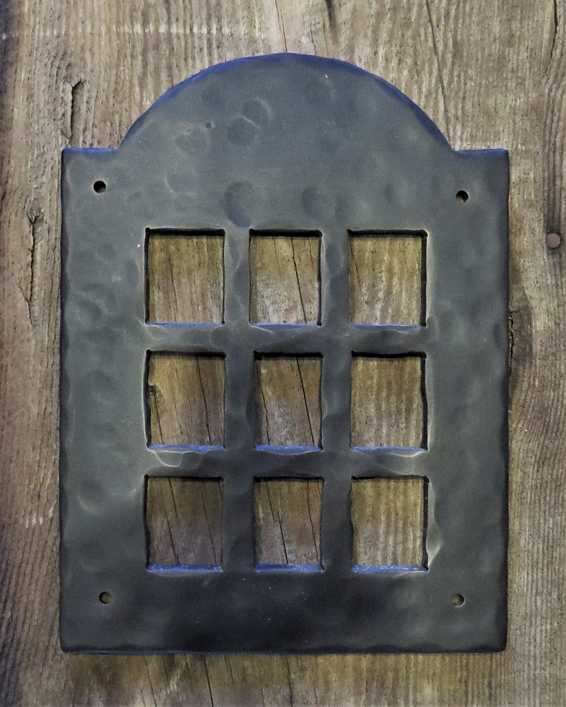 Colonial Iron Speakeasy Door