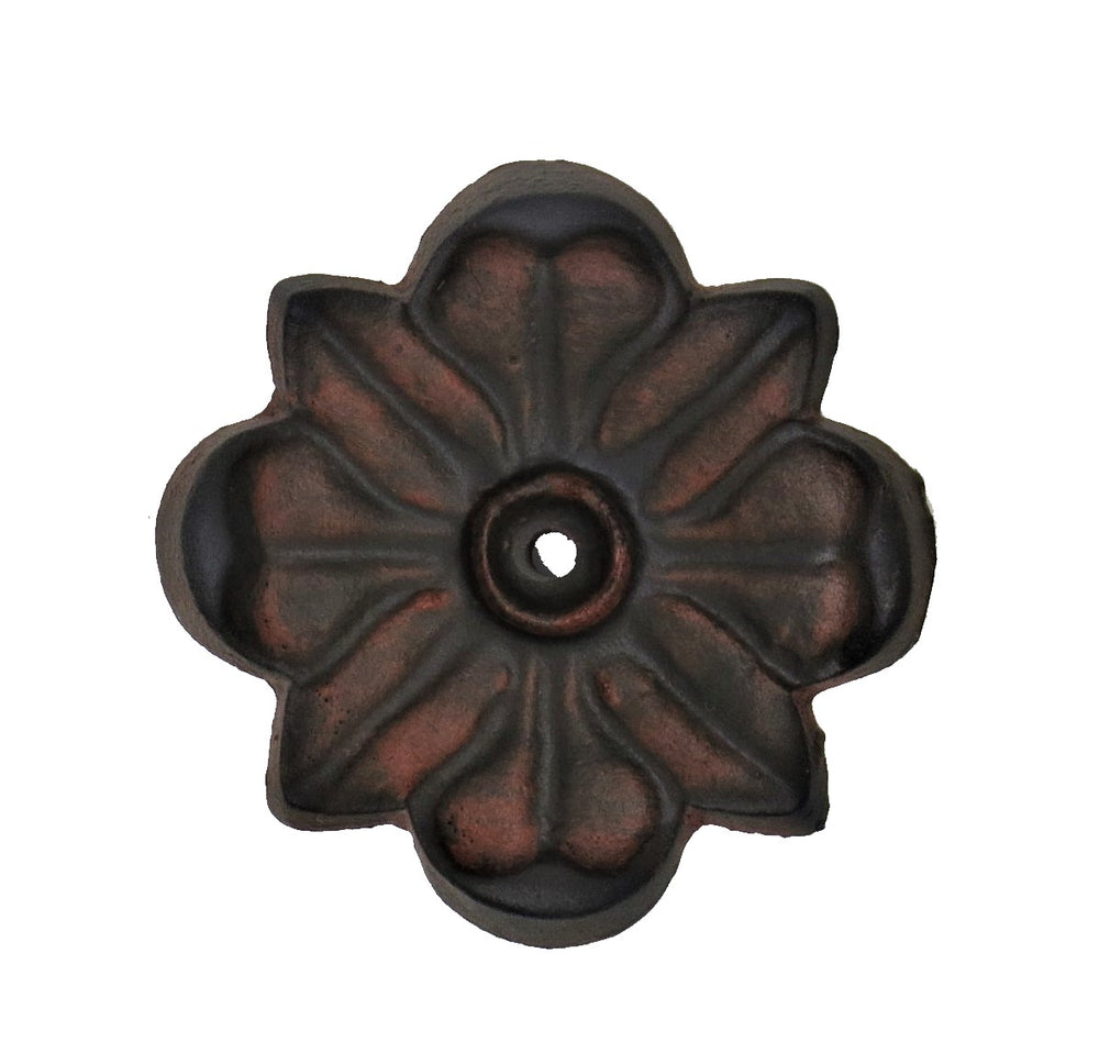 Floral Iron Rosette