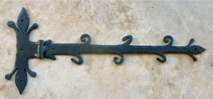 Old English Castle Wrought Iron XL Functioning Hinge Strap