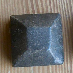 "1 1/4"" Square Cap Nut - Pyramid"