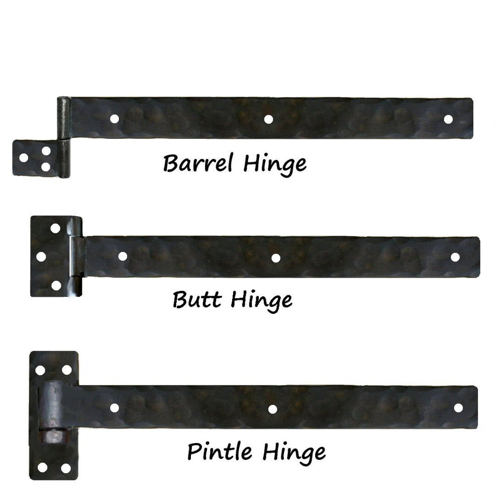 Plain Straight Iron XL Functioning Hinge Strap