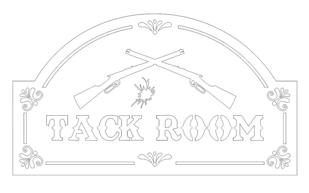 Tack Room Sign