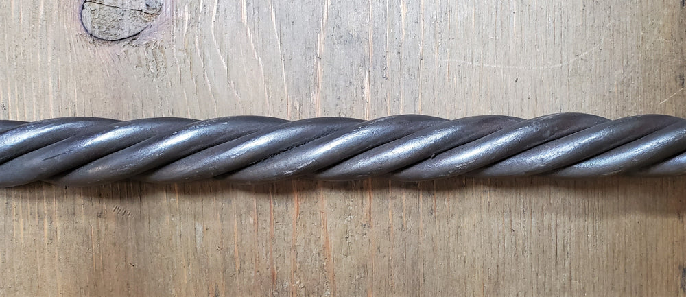 Threaded Rope Twist Bar