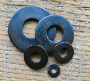 USS Flat Washer 1/4""