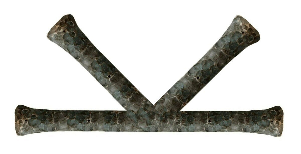 "Traditional Tuscan Iron ""K"" Plate"