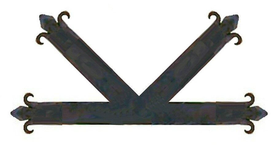 "Authentic 15th Century  Iron ""K"" Plate"