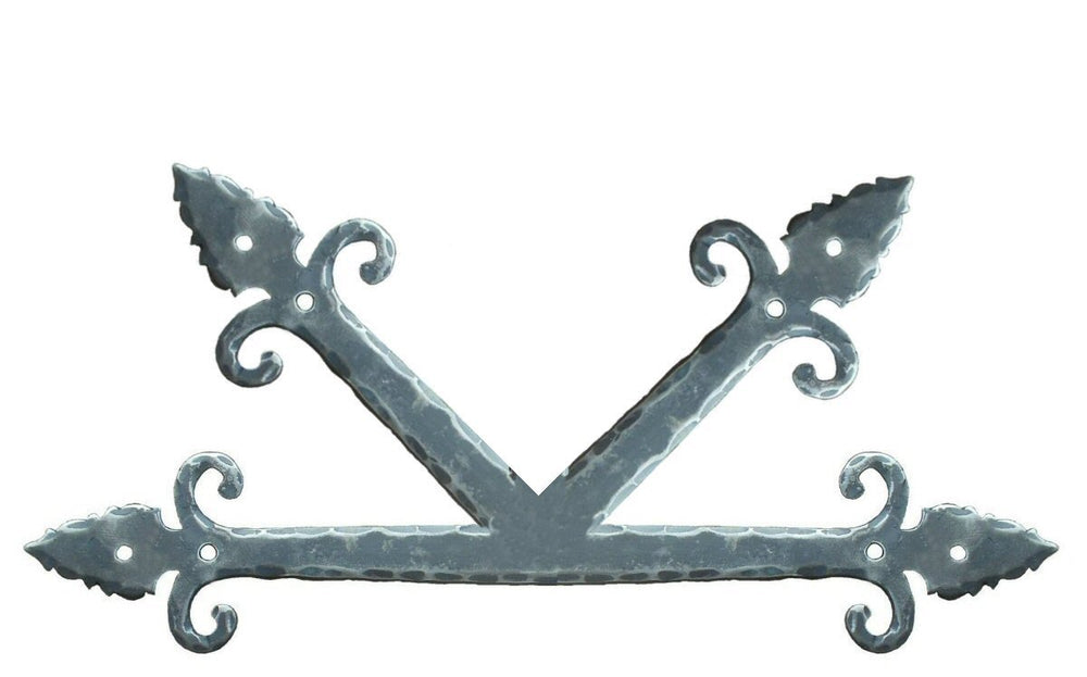 "Medieval Iron ""K"" Plate"