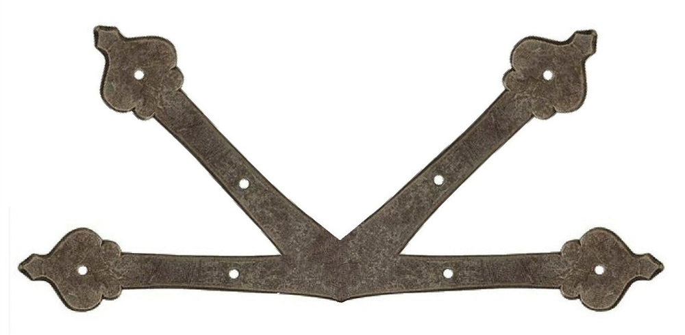 "French Country Revival Iron ""K"" Plate"