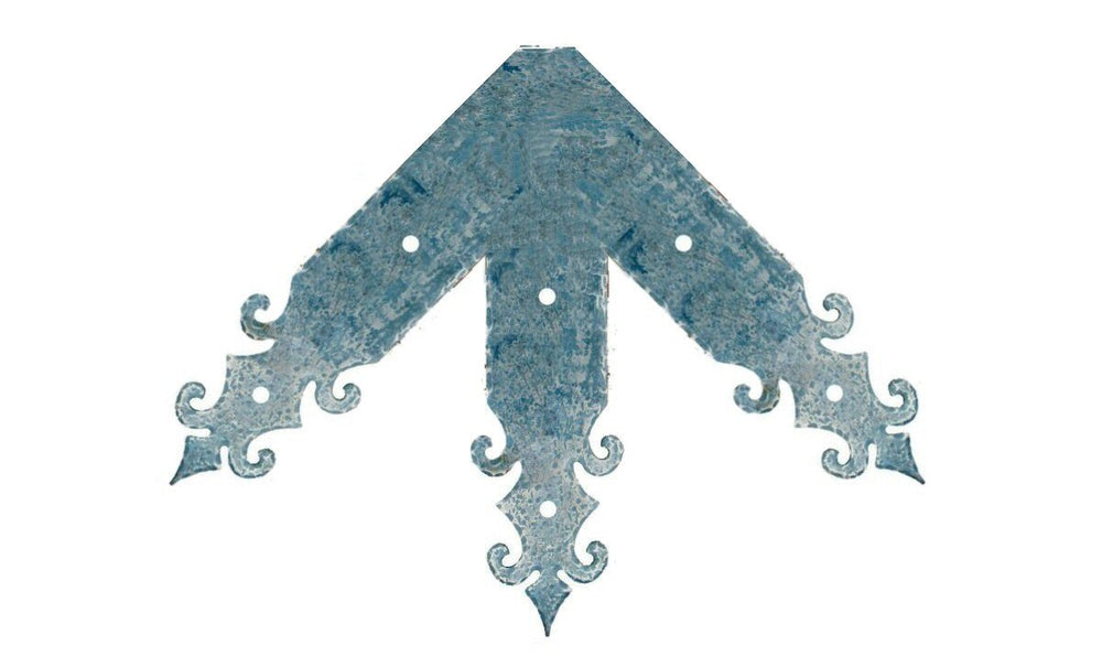 Romanesque Iron Ridge Center Plate